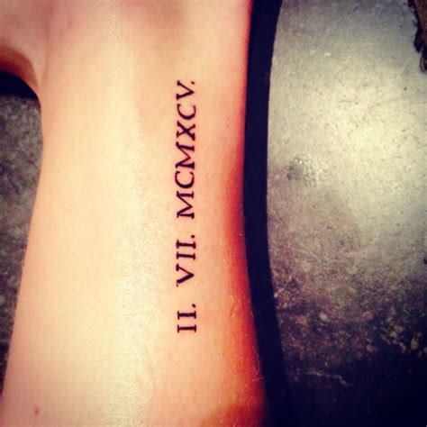 tattoo cost for roman numerals romeinse cijfers my fave r pinterest tattoo and