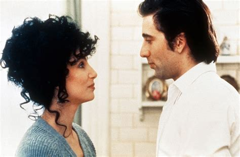 movie nicolas cage and cher nicolas cage cher moonstruck watch listen read pinterest