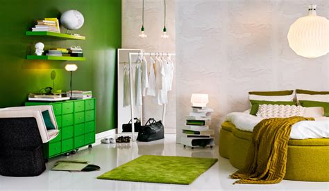 Greener Interiors by Jak Urz艱dzi艸 Wn苹trze W Kolorze Zielonym