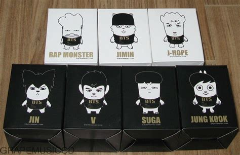 Bts Hiphop Pop Up Card bts hip hop figure set kpopmerchandiseworld