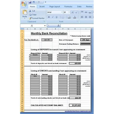 Credit Card Statement Reconciliation Template Balance Sheet Reconciliation Template In Excel It Works Business And Tips On Pinterestexcel