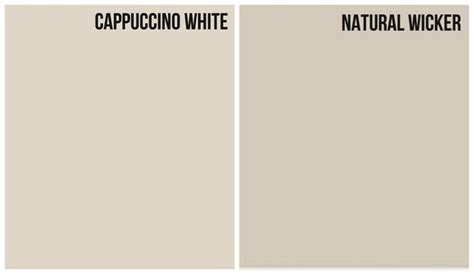 light paint color with cooler grey undertone cappuccino white paint wall