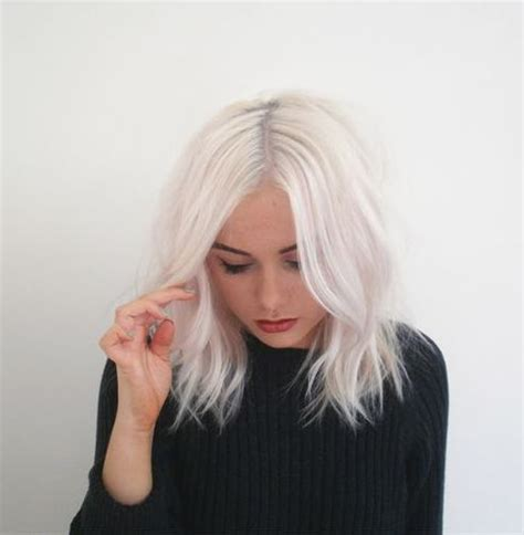 bob platinum blonde hair silver hair color for hairstyles for women over 60
