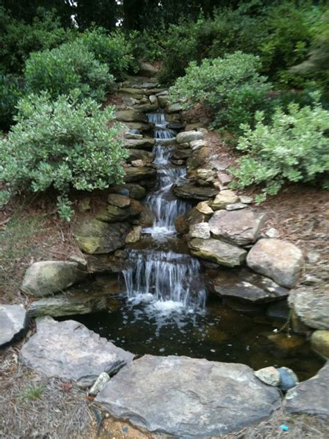 how to build a backyard stream 115 best backyard stream images on pinterest landscaping