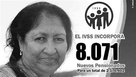 listados pensionados ivss amor mayor listas de pensionados del ivss y amor mayor del 22 07 2012