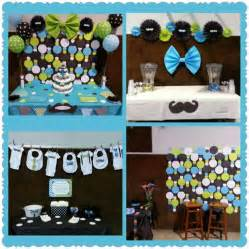 Mustache Themed Baby Shower Decorations Baby Boy Shower Mustache And Bow Tie Backdrop Circle