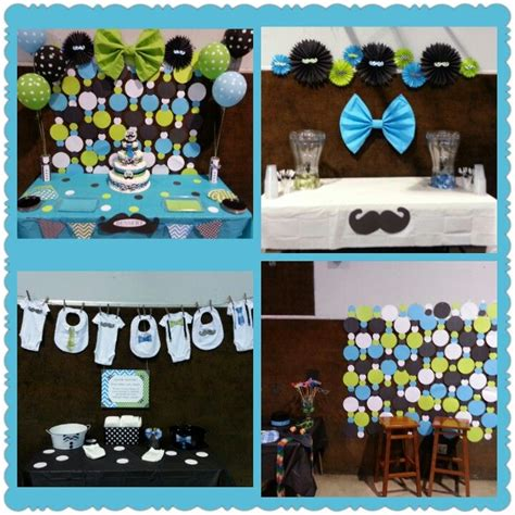 Bow Tie Baby Shower Decorations by Baby Boy Shower Mustache And Bow Tie Backdrop Circle