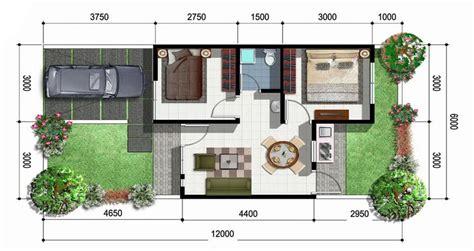 denah rumah sederhana terbaru  terindah