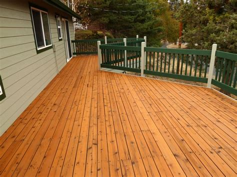 cedar deck refinish traditional patio other metro