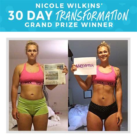 30 day transformation challenge 30 day transformation challenge winners wilkins