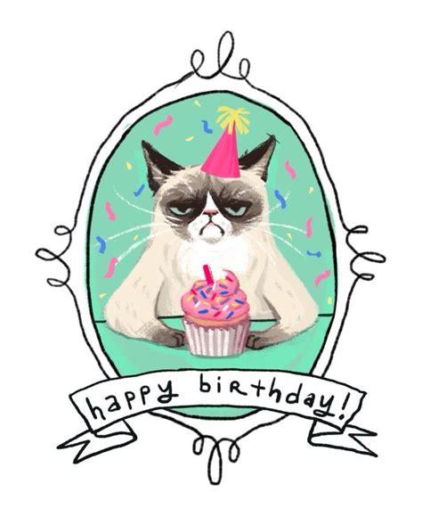 grumpy cat birthday card template 1000 ideas about grumpy cat birthday on