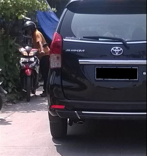 Lu Belakang Mobil New Avanza jual tanduk bumper belakang new avanza dan xenia ori auto2000 aksesoris asoloshop