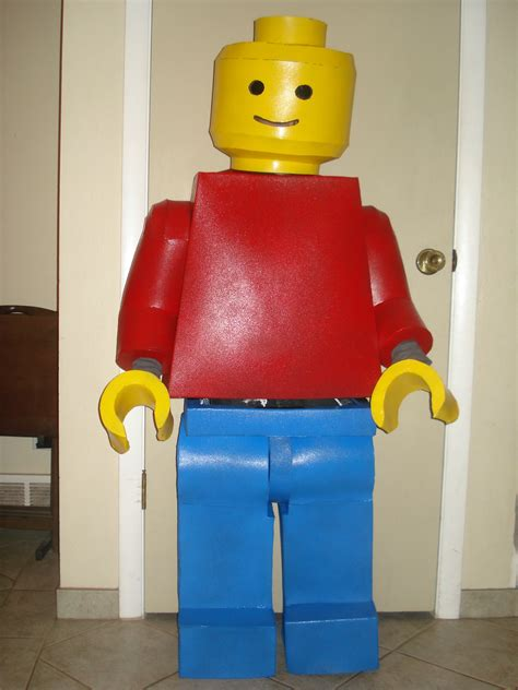lego costume mypartyplanner party ideas