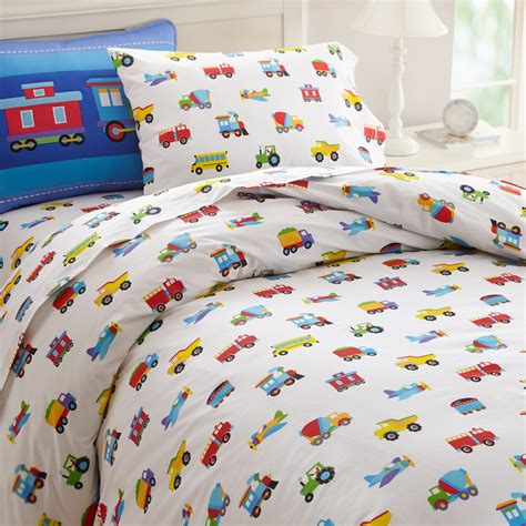 Truck Comforter by Trucks Airplanes Trains Duvet Cover Bedding Or