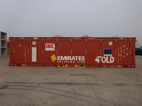 emirates shipping line emirates shipping line starts using 4fold foldable containers