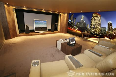 home theatre interior design pictures