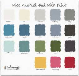 colorways miss mustard seed milk paint colors
