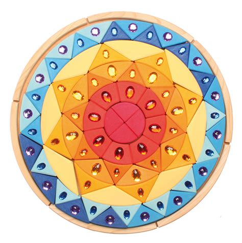The Sparkling Of Mandela Rsquo grimms sparkling sun mandala puzzle myriad toys