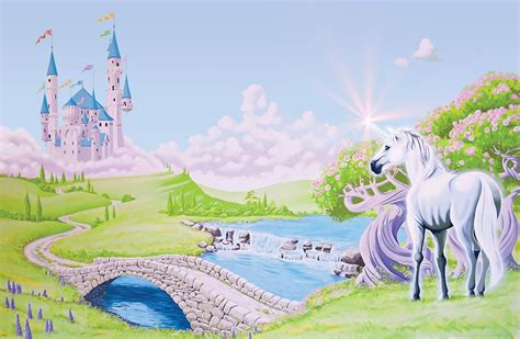 Cinderella Wall Mural princess castle wallpaper wallpapersafari