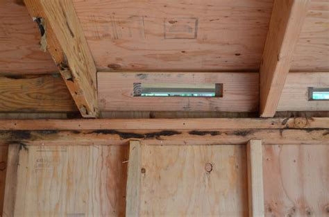 Shed Roof Vents by Chicken Coop Shed Combo Hip Digs