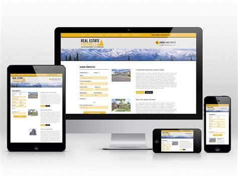 responsive layout zoom responsive web design and development for realtor