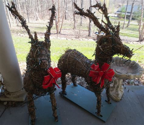 lighted reindeer yard decorations lighted reindeer yard decorations bloggerluv com