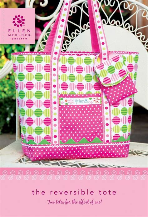 pattern tote bag reversible pdf download of reversible tote bag sewing pattern by