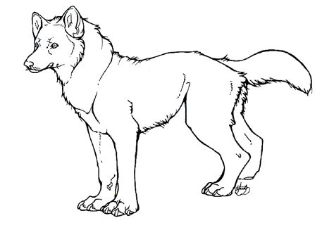 Outlines Of Wolves by Wolf Outline By Diamondeden On Deviantart
