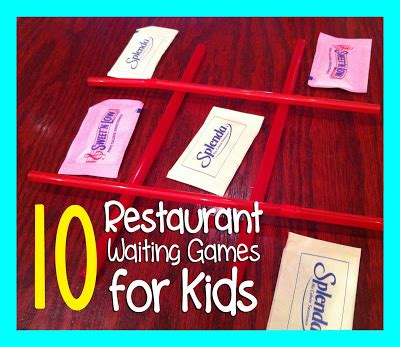 things found on restaurant table list 10 restaurant waiting to play with repeat
