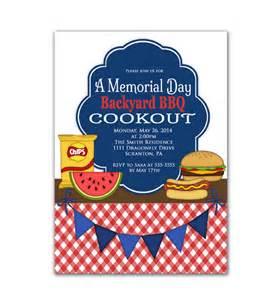 cookout invitation labor day memorial day bbq invite