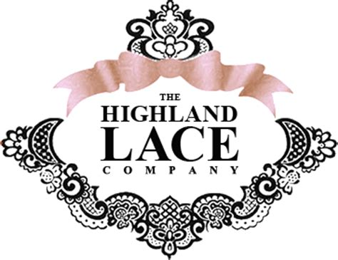 lace pattern logo our vintage linen collection highland lace company