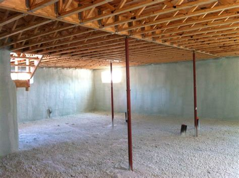 basement spray foam basement insulation roofing insulation