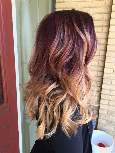red to blonde ombre bob 17 best ideas about red blonde on pinterest red blonde