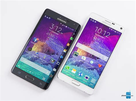 Samsung Galaxy Note 4 And Galaxy Note Edge Unleashed At Ifa 2014 Samsung Galaxy Note Edge Vs Samsung Galaxy Note 4