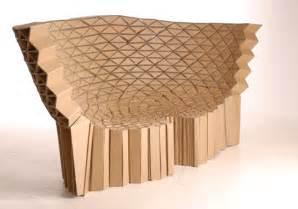 Lazerian studio s stunning recycled cardboard furniture inhabitat
