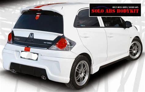 Ducktail Honda Brio Plastik bodykit brio zercon abs bodykit plastic