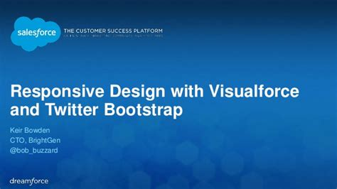 responsive layout twitter bootstrap dreamforce 14 responsive design with visualforce and