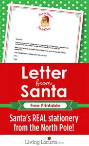 free printable letters from santa