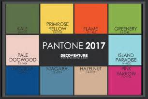 Pantone Spring 2017 Colors by The 2017 Color Trends Decoventure