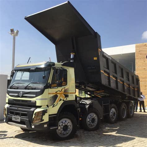volvo trucks india volvo india unveils mega multiaxle trucks for indian