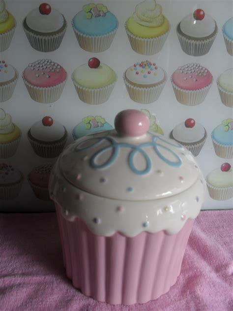 cupcake canisters for kitchen 161 best all about canisters cookies jar by dulce