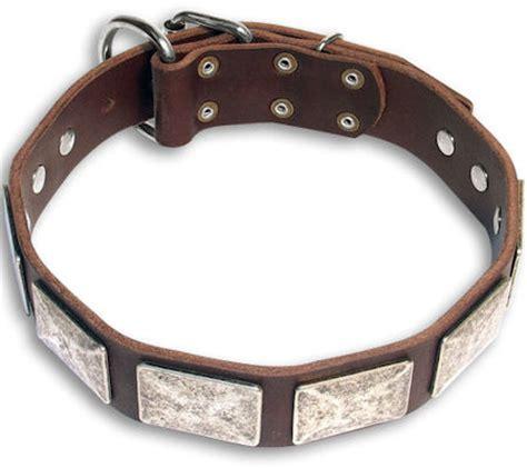 doberman cheap brown collar 19 inch 19 collar c83