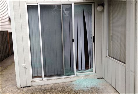 broken sliding glass door impressive broken patio door glass broken doors