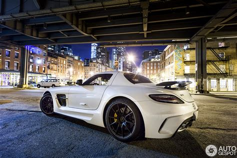 Mercedes New York City by Mercedes Sls Amg Black Series In New York City At