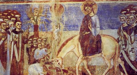 ingresso a gerusalemme l ingresso messianico a gerusalemme fonti