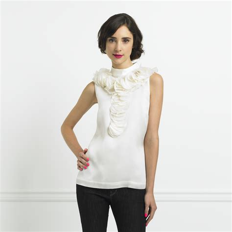 Style Kates Blouse by Kate Spade Organza Blouse The Fashionable