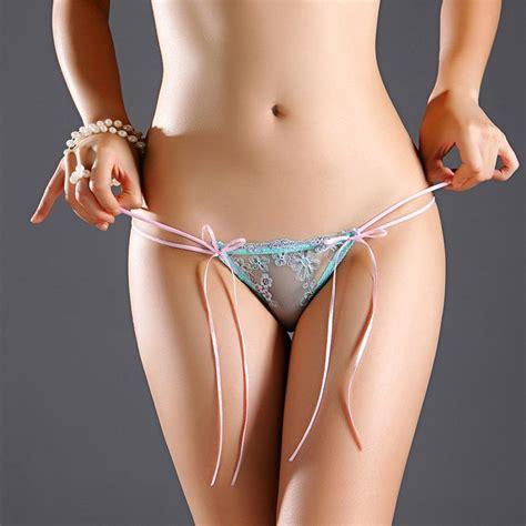 tassel thongs briefs low waist