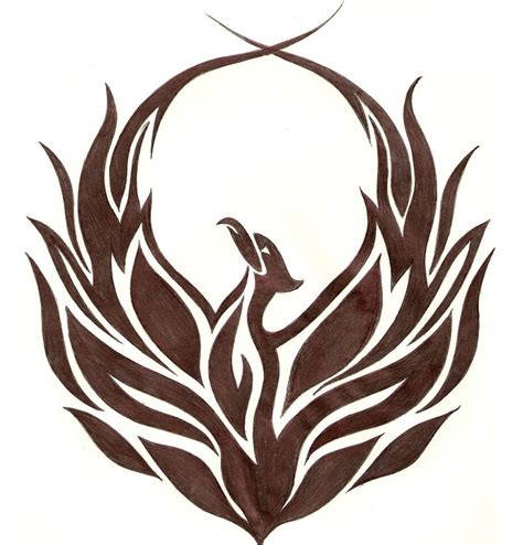 tribal phoenix tattoos designs designs the is a canvas