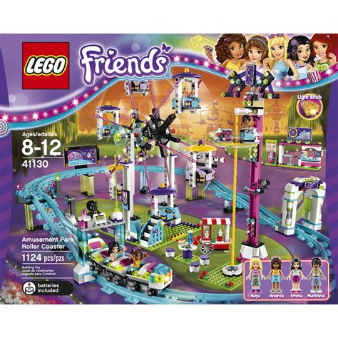 speelgoed lego lego friends amusement park roller coaster toy kids play