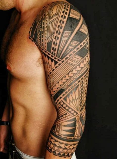 attractive tattoos for men tribal arm tattoos cool arm tribal for